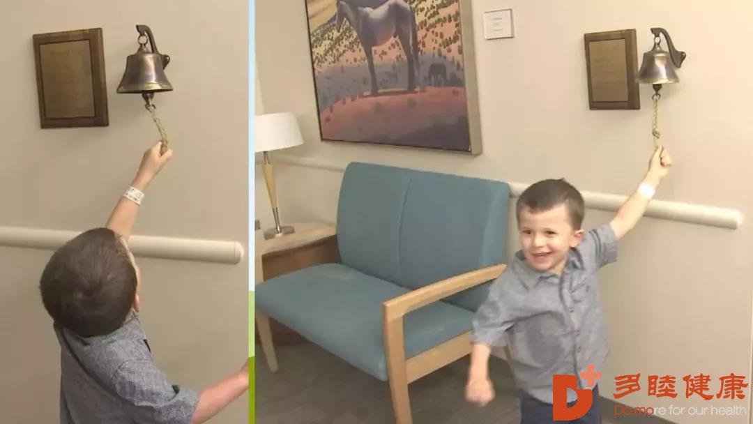 癌症治疗中心帮助孩子抗癌成功!可以快乐成长了!